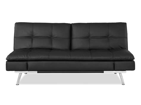 Index Sofa Bed by Matrix Convertible Sofa Bed Black By Lifestyle Solutions