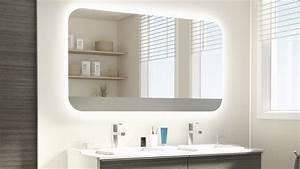 Les concepteurs artistiques miroir salle de bain avec for Carrelage adhesif salle de bain avec luminaire avec led