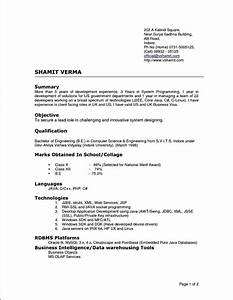 latest curriculum vitae format free samples examples With current resume examples
