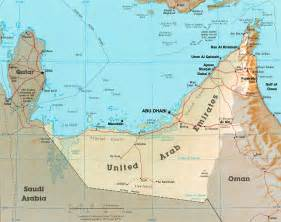 UAE Map - United Arab Emirates • mappery