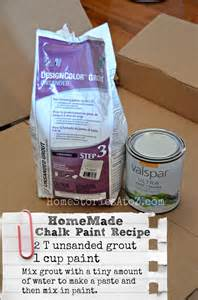 Homemade Chalky Finish Paint Recipe #LowesCreator - Home