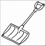Shovel Snow Clip Clipart Abcteach Clipartmag Clipground sketch template