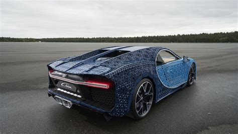 The delectable lego bugatti is a challenge to build by itself, but once completed, the team ventured to a local hobby store for some actual motivation. Lego's life-size Bugatti Chiron scoots silently at 18 mph - Roadshow
