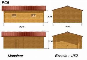 plan pour permis de construire With exemple de plan de garage