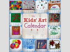 Kids Art Calendar Gifts That Kids Can Make Red Ted Art
