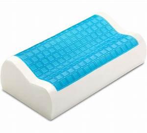 pharmedoc contour memory foam comfort cooling gel pillow With best memory foam pillow with cooling gel