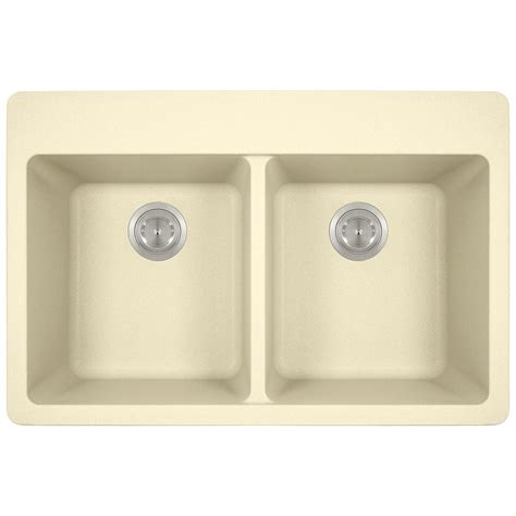 kitchen drop in sinks mr direct drop in granite composite 33 in 4 equal 4737