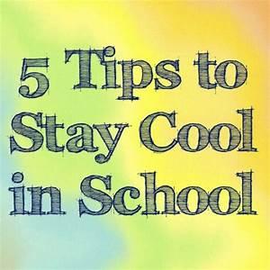 5 Tips to help stay cool in school | Brandeis Summer ...