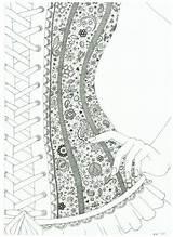 Coloring Corset Lace Deviantart Adult Wish Drawing Corsets Adults Pattern Colorear Visitar Colorir Outline Printable Uploaded Desenhos Dibujo Visit Decoupage sketch template