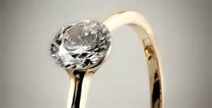 verlobungsring gelbgold diamant verlobungsringe gold exklusive emotionale schmuckstücke