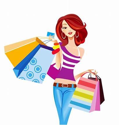 Shopping Bag Illustration Clipart Bags Cartoon Pop