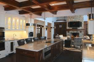 rustic kitchen islands with seating modern rustic kitchens dgmagnets