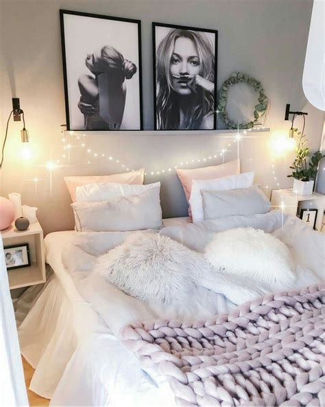 chambre cozy idees rose gris ma chambre decoration