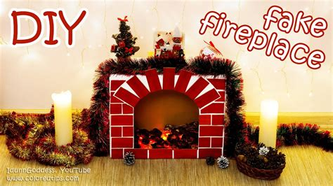 download diy room decoration chrismas vedio diy fireplace with faux cozy room decor tutorial