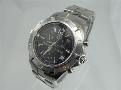 uhr tag heuer tag heuer professional 200 meters quarz uhr herrenuhr quartz chronograph cn1110 ebay