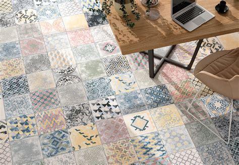 sol vinyle chambre vente de carreaux grès cérame décor imitation ciment