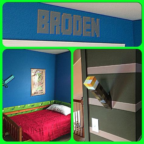 minecraft bedroom decorations in real the epic creation of a minecraft bedroom lolaloot