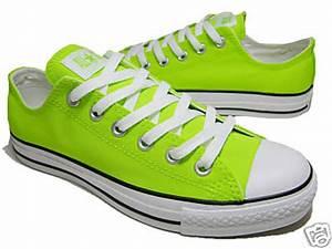 shoemandoo11 Converse All Star Chuck Neon Green 1S208 Ox