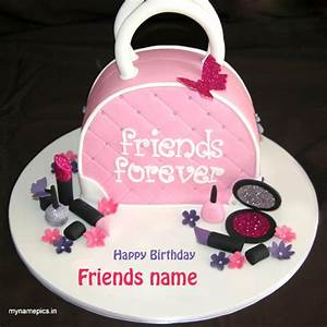 write name on birthday wishes cake for best friend