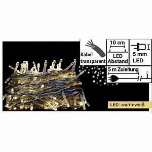 Trafo Für Lichterkette : lichterkette 50 leds trafo warm wei kabel transparent mit netzteil lichterketten f r ~ Eleganceandgraceweddings.com Haus und Dekorationen