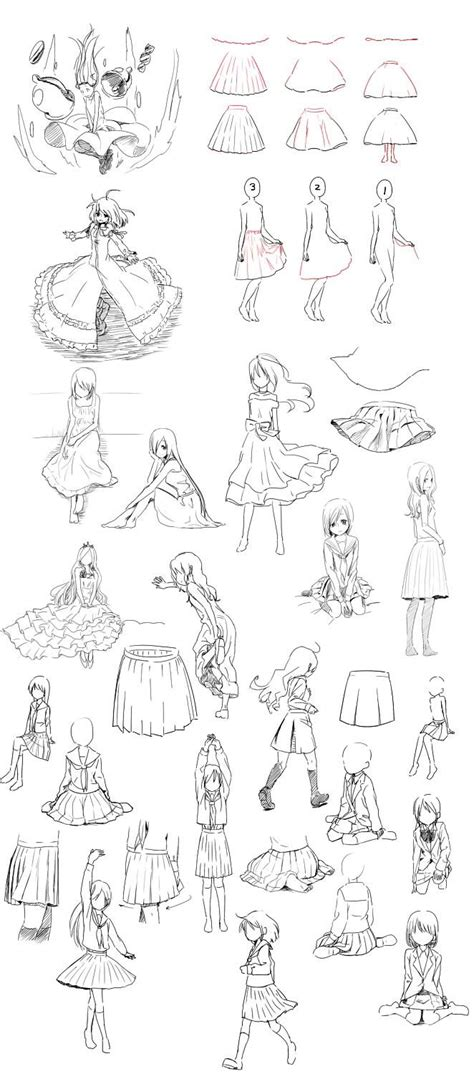 how to draw skirts the artist learned skirt because i was not at it how to draw