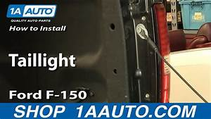 How To Replace Taillight 04-08 Ford F-150