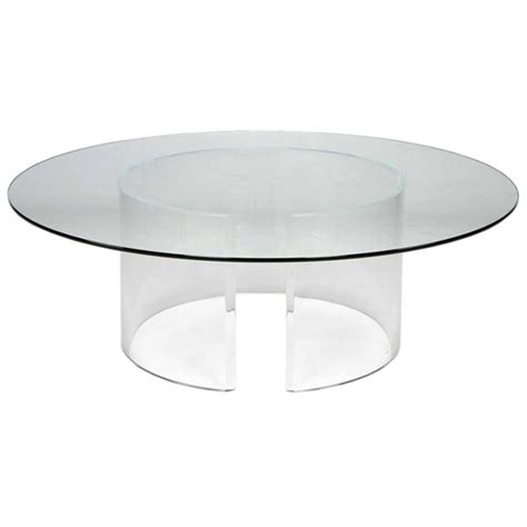 round plastic coffee table round acrylic coffee table home design
