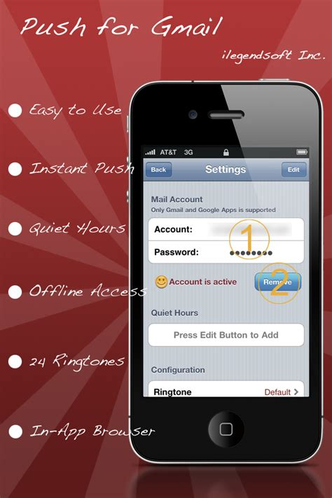 gmail push iphone push for gmail 148apps