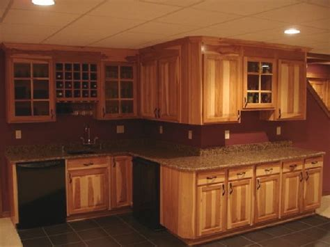 Hickory cupboards and cabinets   Dream Home   Pinterest