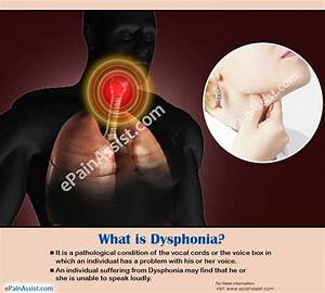 What Is Dysphonia
