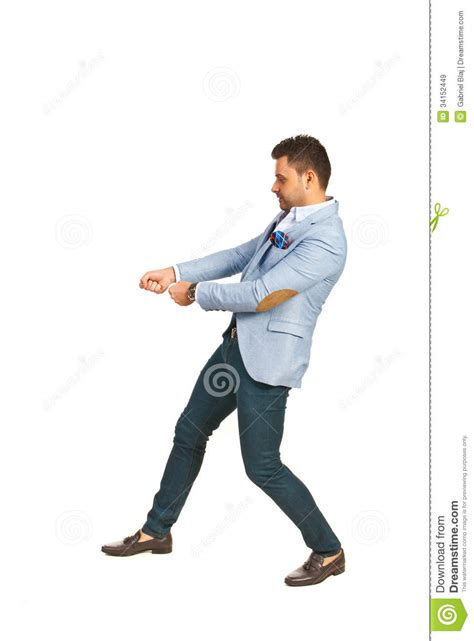business man pulling  royalty  stock images