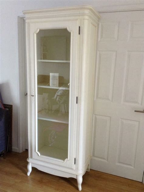 laura ashley provencale display cabinet  glass door