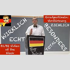 German Intensifiers  Learn Intermediate German For B1b2 #33  Deutsch Lernen  German Akademie