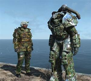 Military Power Armor Fallout 4 Mod Cheat FO4