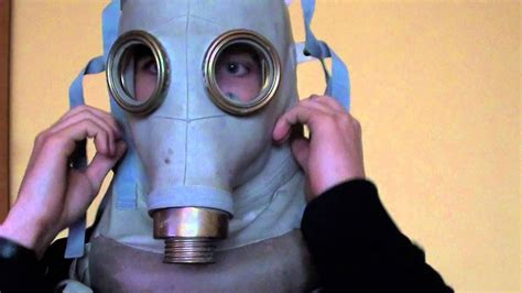 Maska przeciwgazowa SR-1 - YouTube