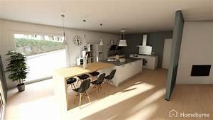 Aménagement D Un Salon : donner votre avis sur plan d 39 amenagement salon cuisine ~ Zukunftsfamilie.com Idées de Décoration
