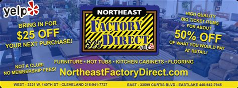 northeast factory direct furniture store eastlake oh