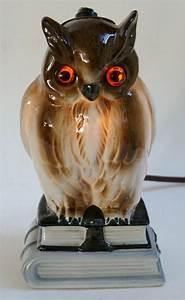 Porcelain Perfume Lamp with Owl van AardewerkenZo op Etsy