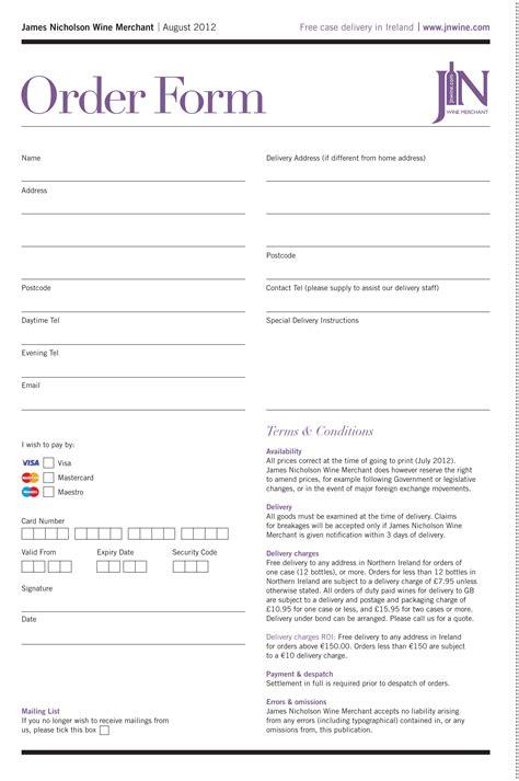 order form  images order form
