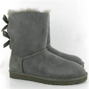 ugg boots sale grey gray ugg boots with bows
