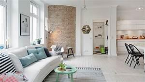 Decoration Mur Interieur : cuisine mur de briques et style industriel photos trouv es sur decoration mur interieur ~ Teatrodelosmanantiales.com Idées de Décoration
