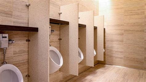 urinal screen partitions