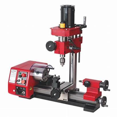 Lathe Machine Drilling Mini