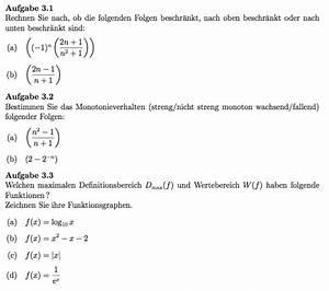 Monotonieverhalten Berechnen : monotonieverhalten definitionsbereiche mathelounge ~ Themetempest.com Abrechnung