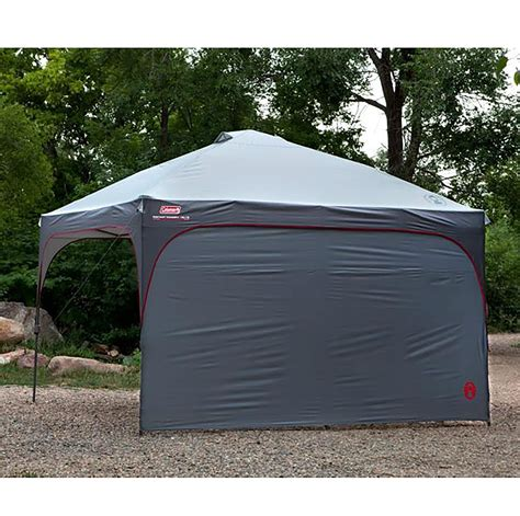 coleman 12x12 canopy 4 coleman instant canopy sunwalls accessory only