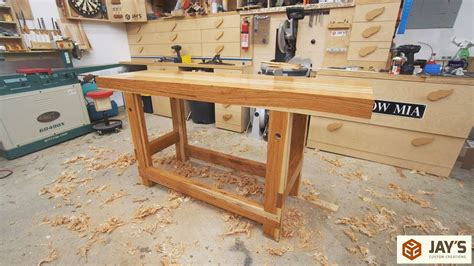 hickory woodworking workbench youtube