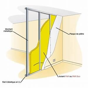 cloison acoustique legere entre deux pieces With attractive maison de la fenetre 13 isolation acoustique