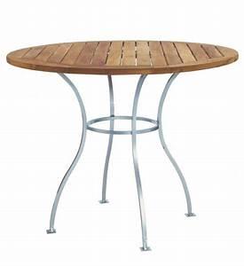 Tisch Rund 100 Cm : gartentisch teak rund 100 cm im greenbop online shop kaufen ~ Whattoseeinmadrid.com Haus und Dekorationen