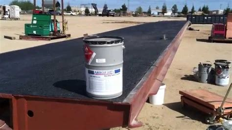 anti slip deck coating   steel bridge deck youtube