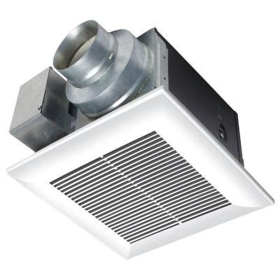 does home depot install bathroom exhaust fans panasonic whisperceiling 110 cfm ceiling exhaust bath fan